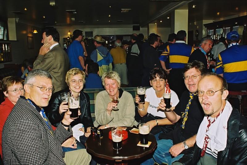 Siste dagen i Dublin. Etter en hard helg har vi nå tatt en alkoholfri dag :-)
