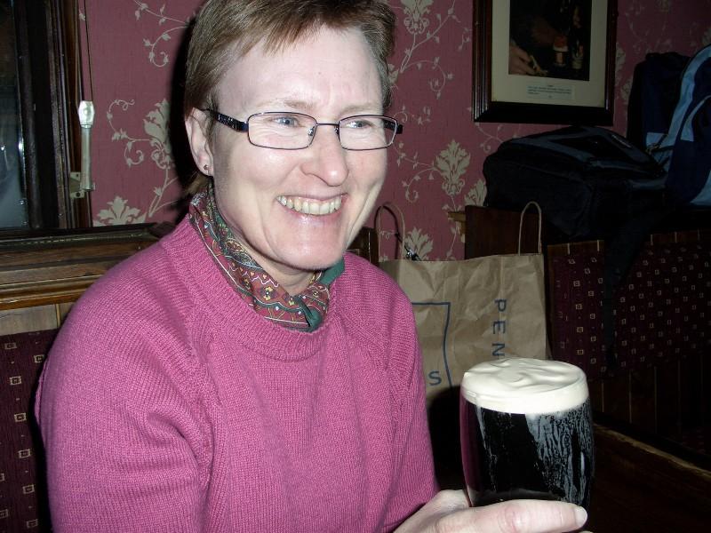 Til og med Bodil begynte å like Guinness.