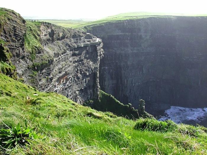 Cliffs of Moher - rett og slett nydelig.