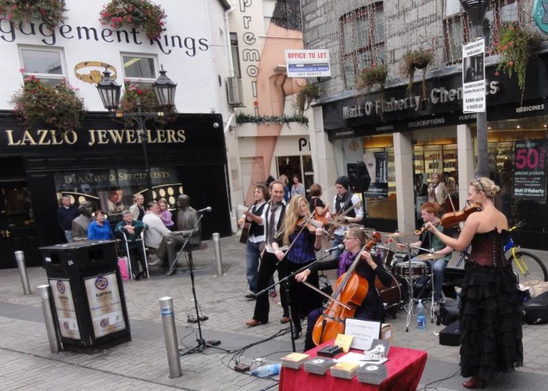 Det er bare å reise til Galway hvis du liker Irsk musikk og Guinness.