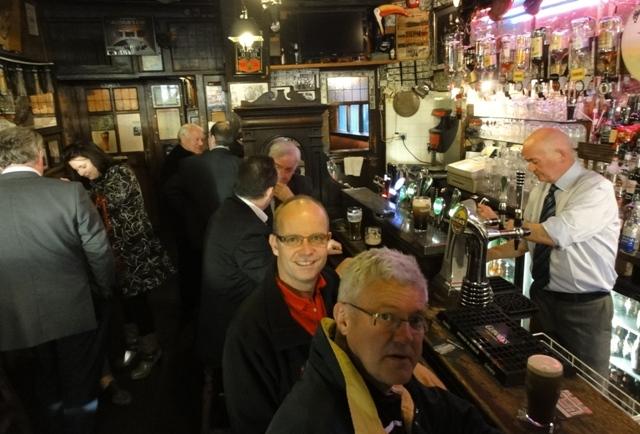 Og en tur på O'Donoghue's hører med. Her var det The Dubliners ble 'oppdaget'.