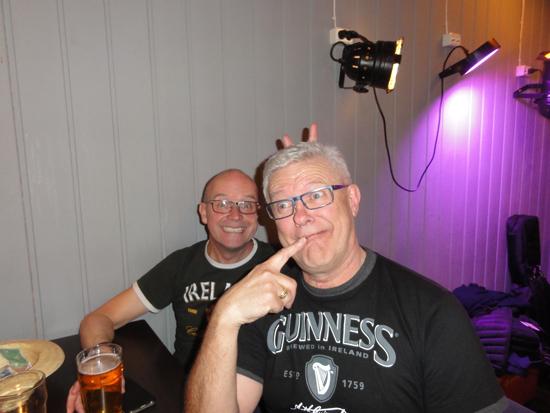 26.03.15 Vittiperene Ole Jørgen og Niels.  Bakgården Pub, Brumunddal.