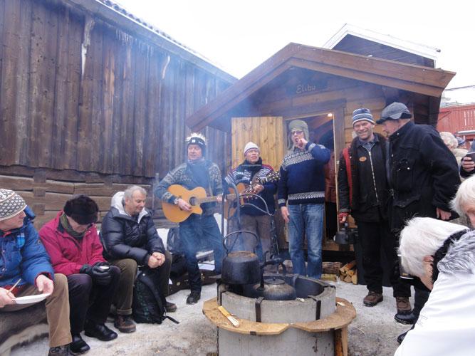 Rørosmartnan Finborudgården 19.2.2014.